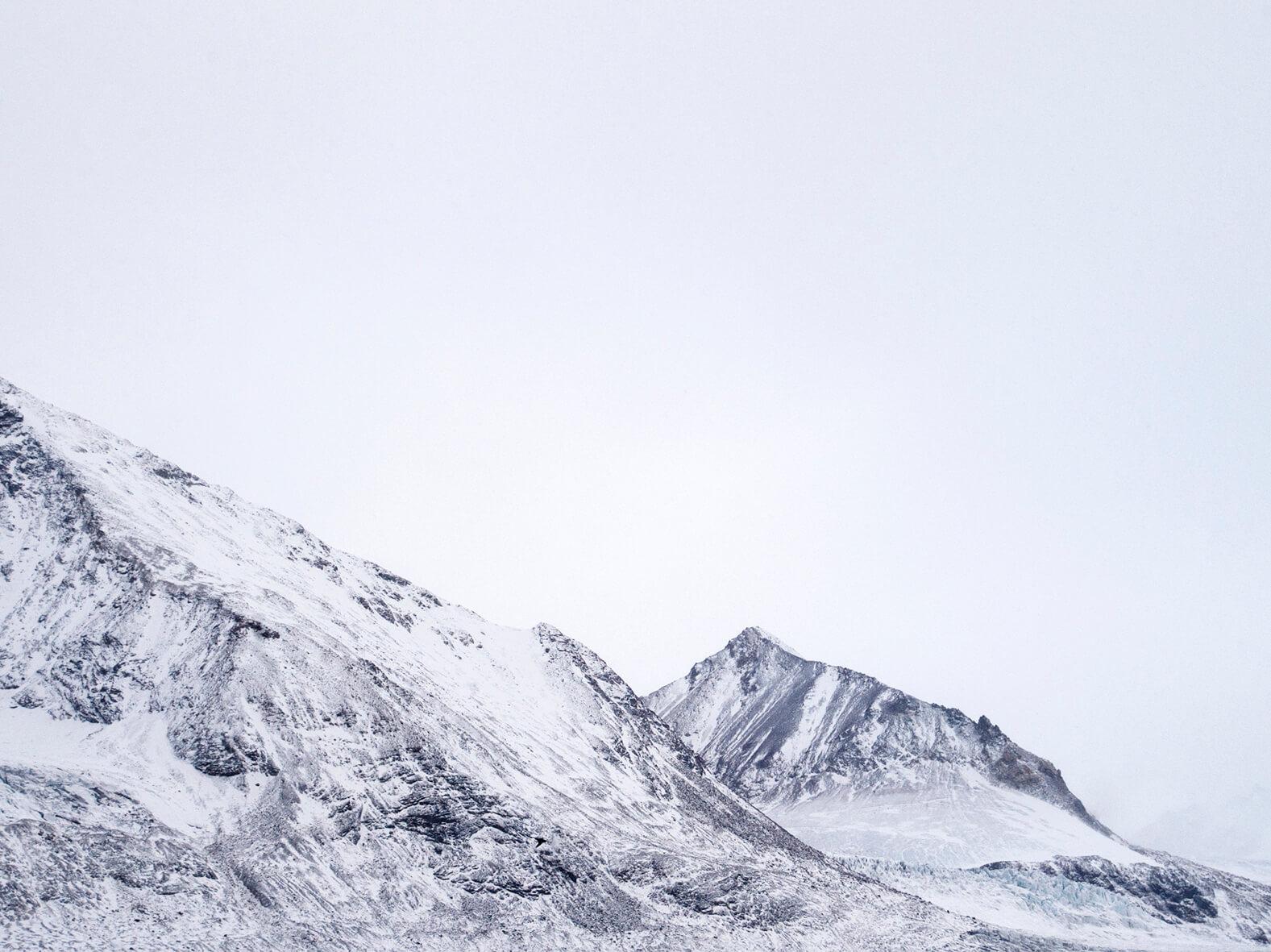high arctic mountain landscape