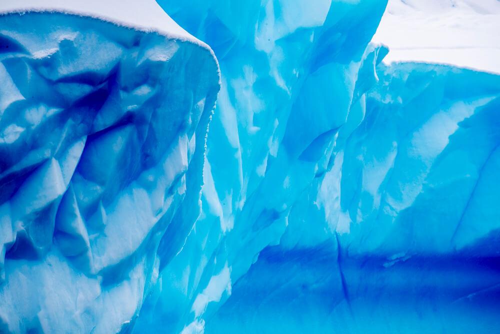 antarctica iceberg close up