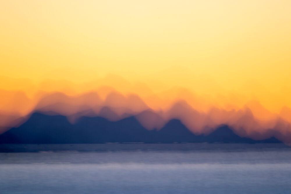 Kaisa Siren abstract antarctica landscape