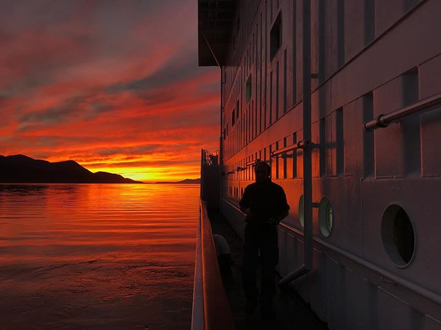 Sunset at the end of the earth - Ushuaia, Argentina