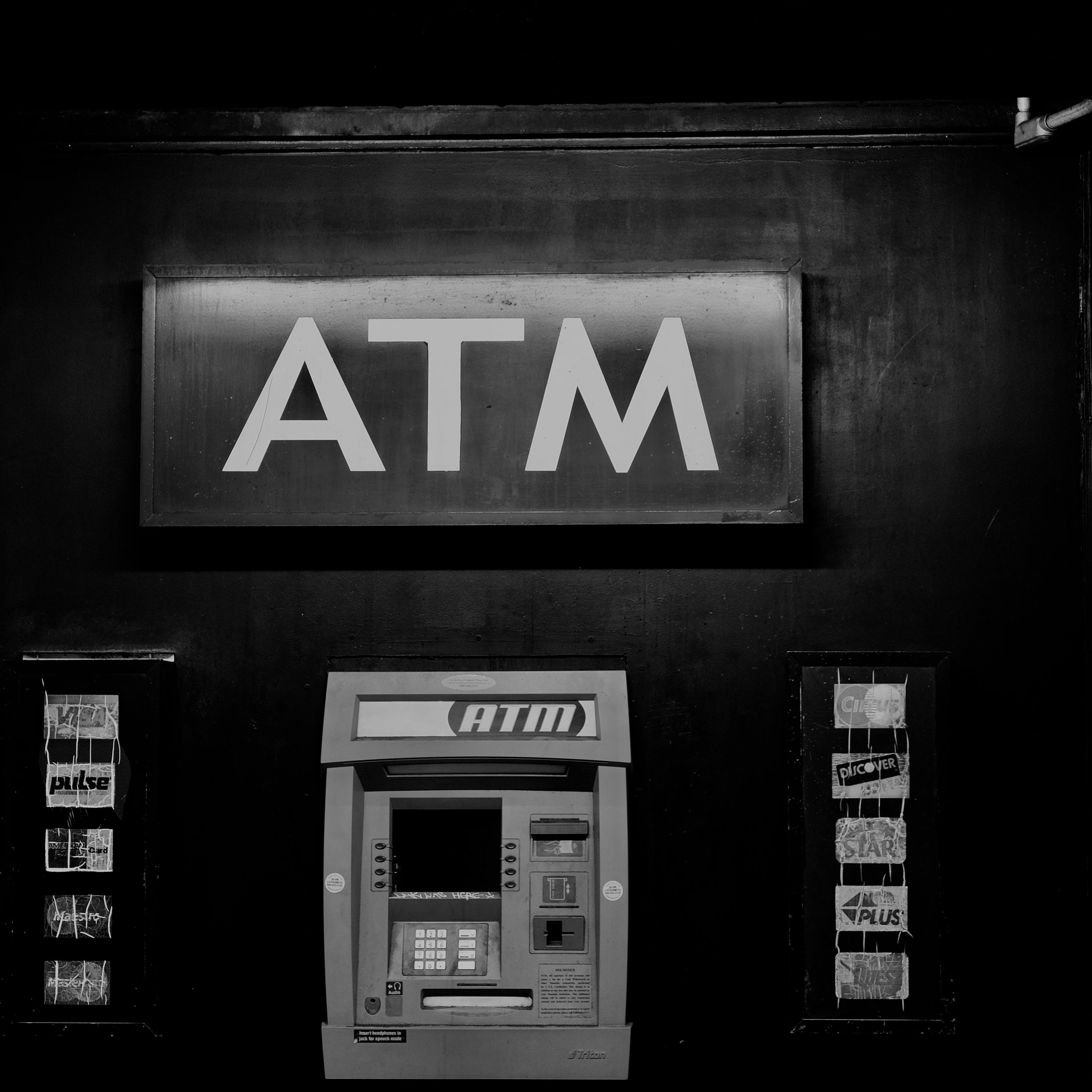 ATMs are becoming an aging relic in the age of instant credit card transactions and Apply Pay.