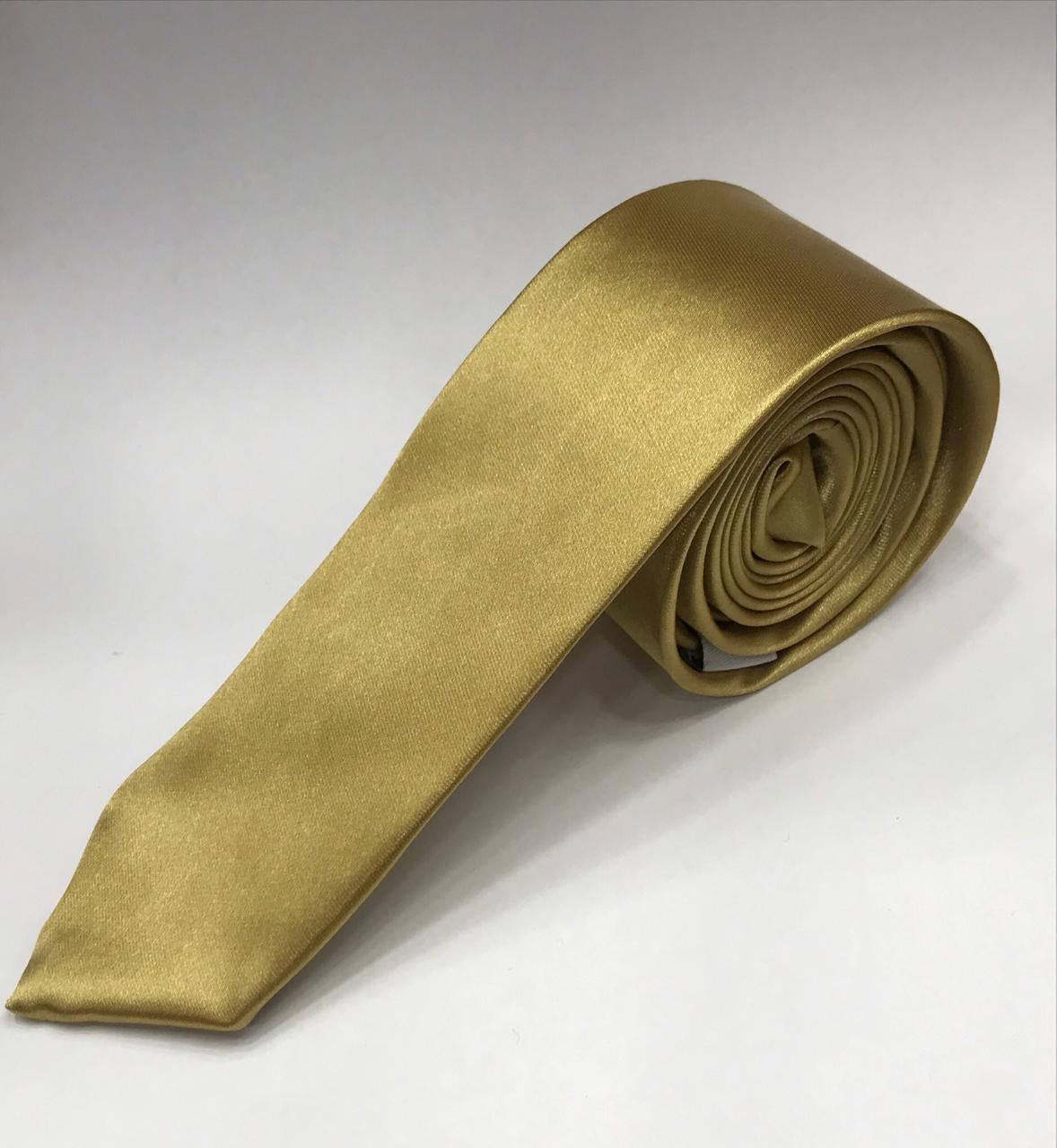 Gravata Dourada - Ouro em atacado