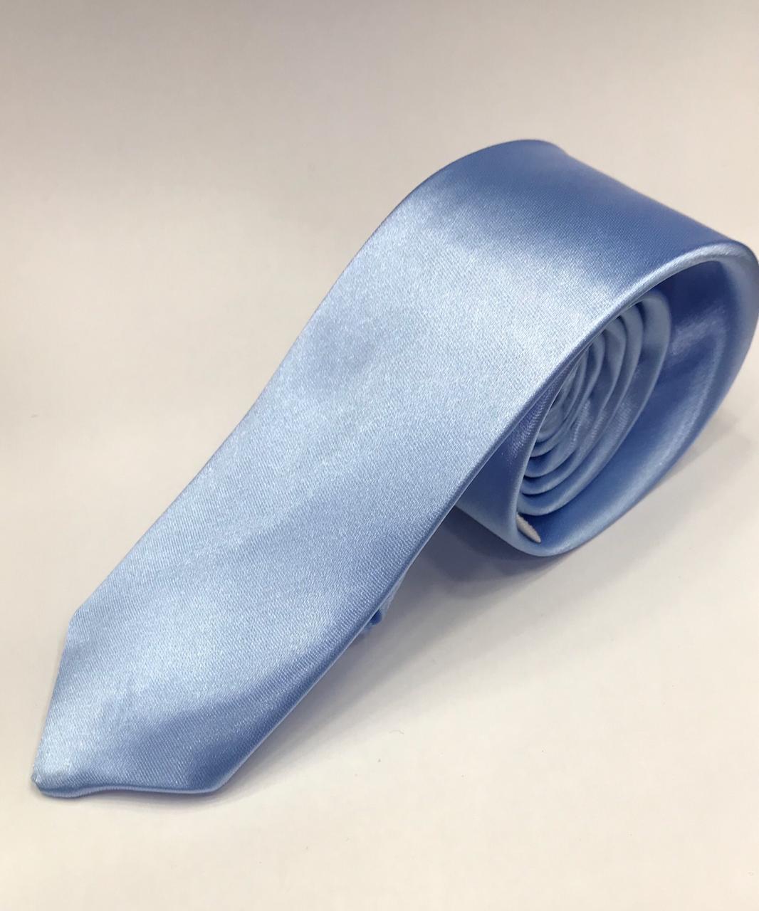 Gravata Azul Bebe