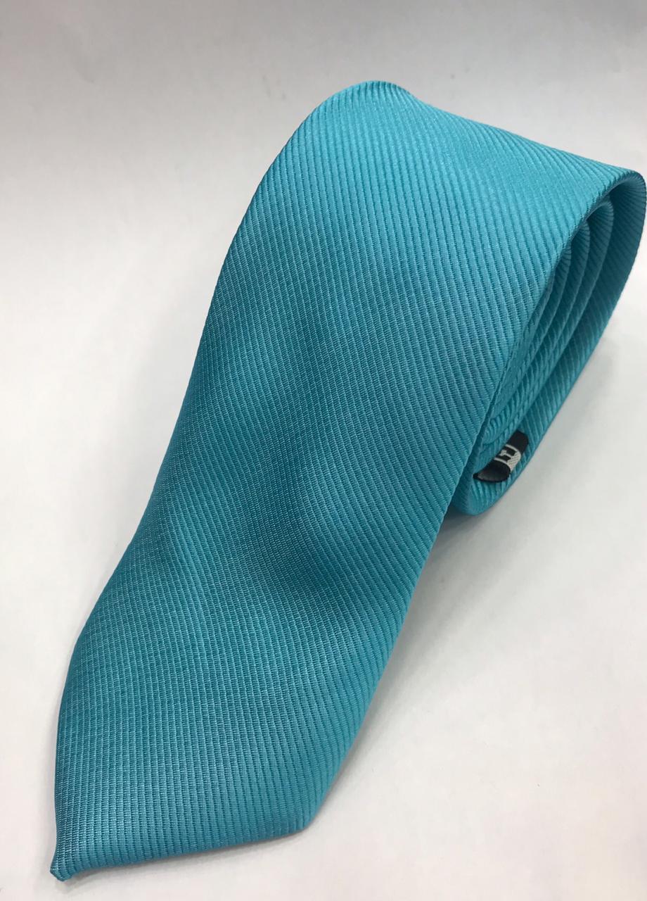 Gravata Azul com Relevo