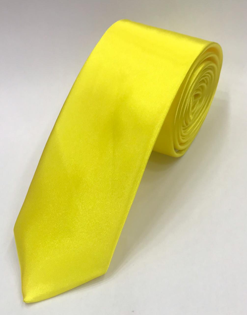 Gravata Amarelo Canario