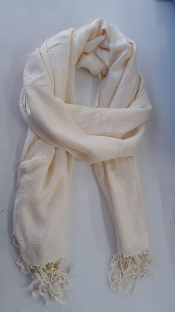 pachimina pashmina pashimina echarpe off white