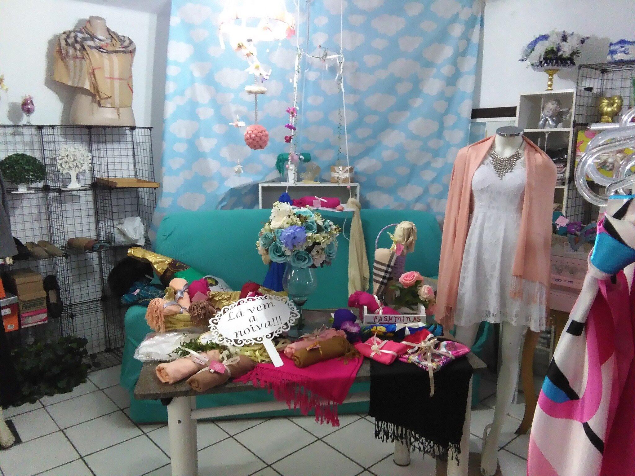 loja de echarpes