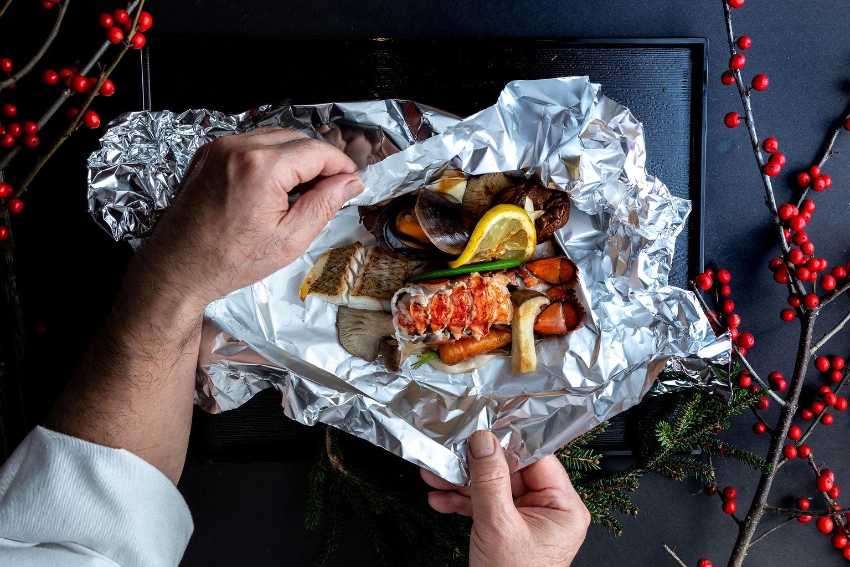 Lobster foil yaki