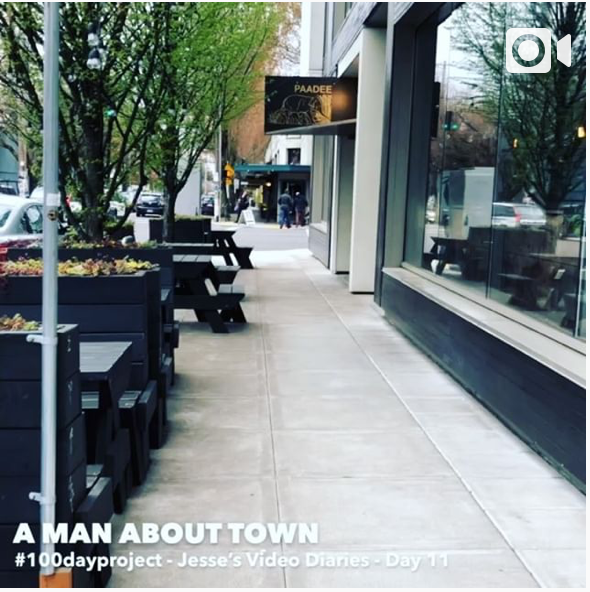 DAY 11A MAN ABOUT TOWN -