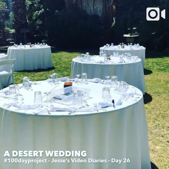 DAY 26A DESERT WEDDING -