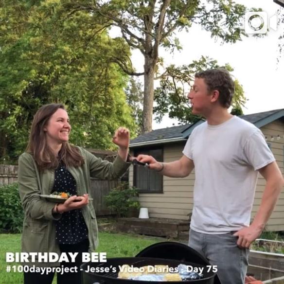 DAY 75BIRTHDAY BEE -