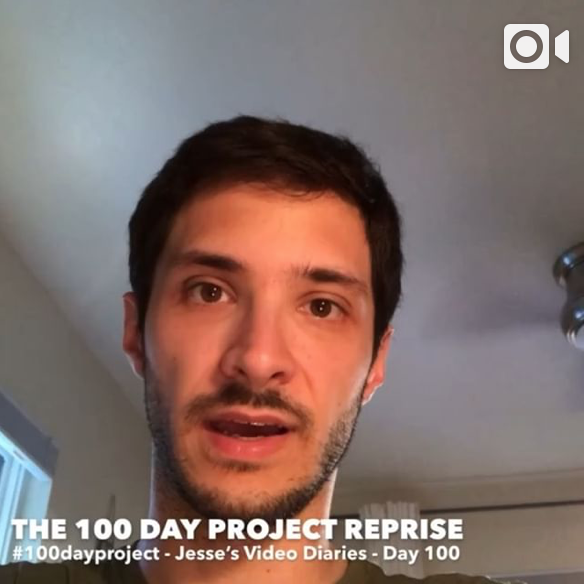 DAY 100 - THE 100 DAY PROJECT: REPRISE -