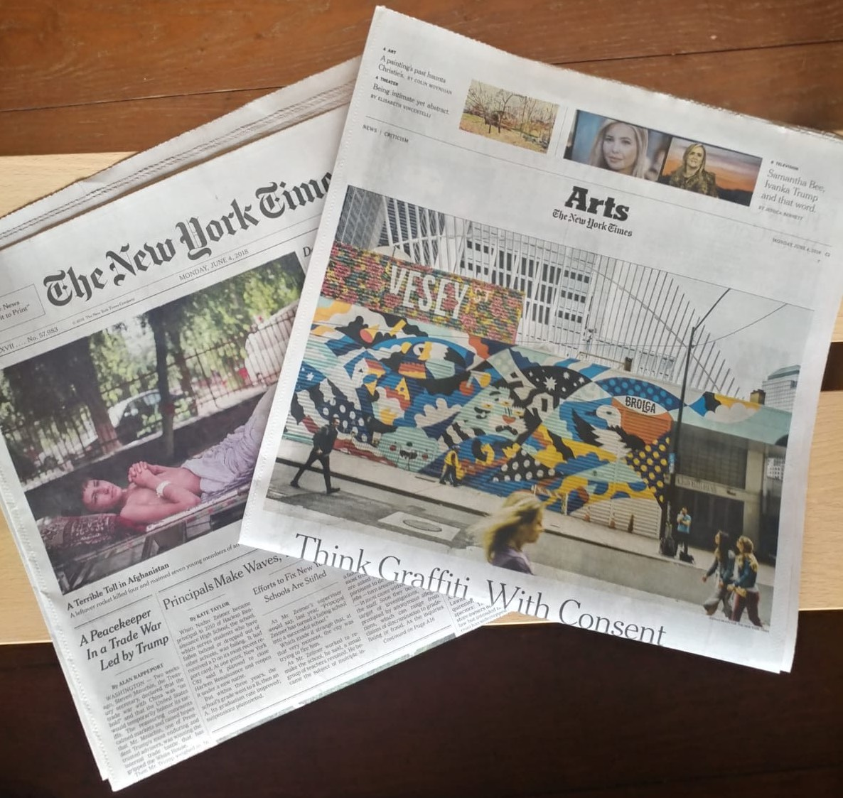 NYTimes-Arts cover-Vesey Mural.jpg