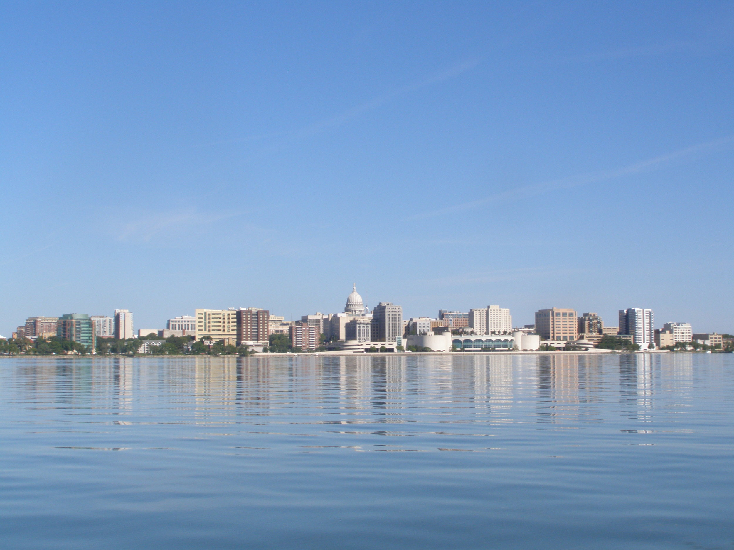 The Aberdeen Apartments offer spectacular views of Madison Wisconsin