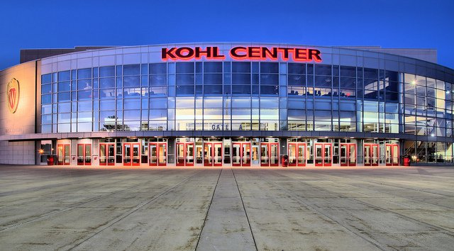 Madison Wisconsin Kohl Center