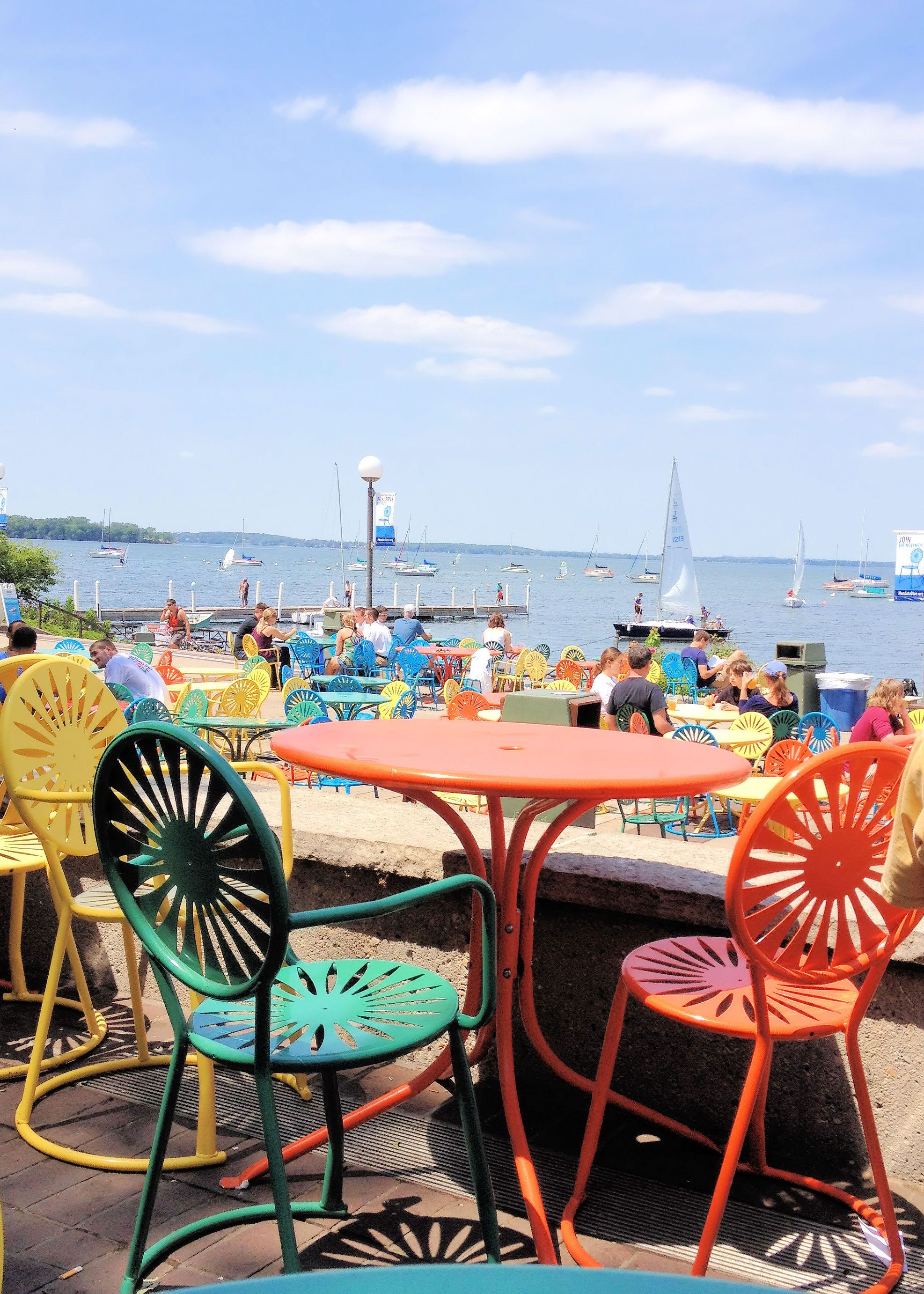 Madison's Memorial Union Terrace