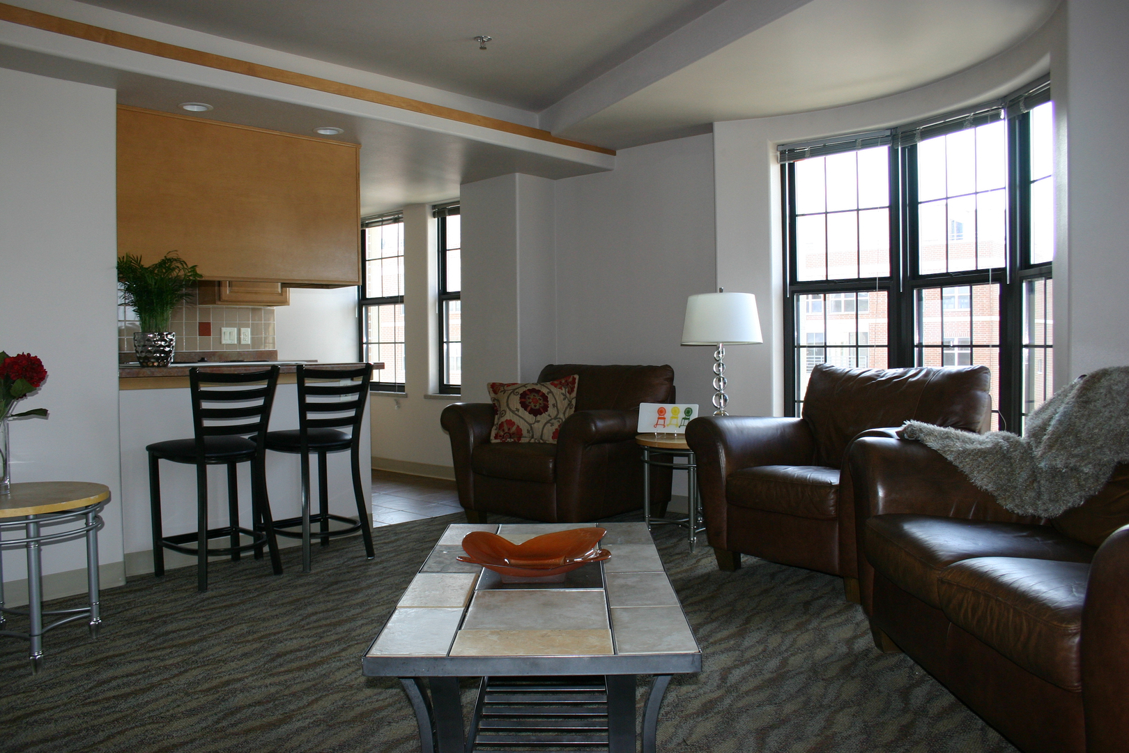 Enjoy open floor plans with large entertaining spaces at the Aberdeen Apartments