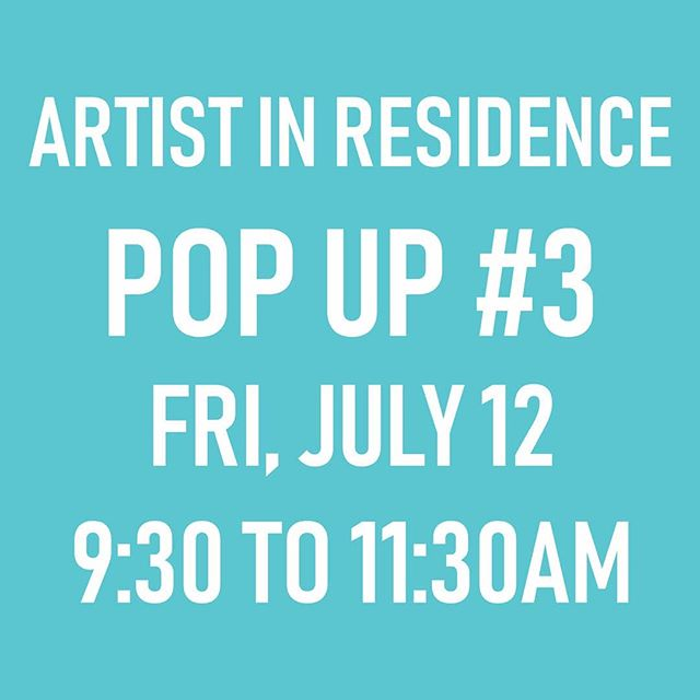 I'll be at the Roundhouse this Friday morning, finishing off the project in my last post... Come by and say hi! 🎨✋✋🏻✋🏼✋🏽✋🏽✋🏾✋🏿🎨 . . .  #sarahronaldair #artistinresidence #roundhousecommunitycentre