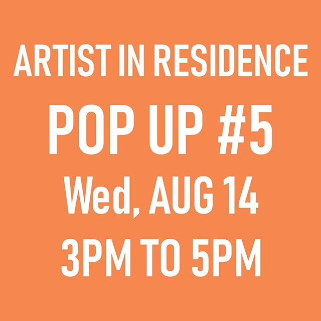 ✨Last pop up of summer is this coming Wednesday!✨ I will be at the Roundhouse 3-5pm to continue plotting and planning for the fall, checking up on the Confessional Art Desk and this week will be leaving a little surprise gift somewhere in the building to be found at 🌿💚🌿RANDOM🌿💚🌿 Btw, that was a hint about the project, any guesses?  Pop by and say hi!🎉 . . .  #sarahronaldair #roundhouse #artistinresidence #roundhousecommunitycentre #vancouver