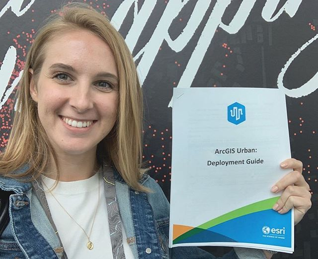 Project Manager Megan Gottfried just wrapped up her ArcGIS Urban Deployment training. The workshop focused on creating new Plans & Projects within the new ArcGIS Urban Product. Let's get planning! . . . . . #arcgisurban #urbanplanning #urban #smartcities #arcgis #gis #esrigram #esri #dataviz #mapping #blueraster #map #developer #geolocation #thescienceofwhere #seewhatotherscant #webapp #dctech #arlingtonva #maphero #maps #data #analysis #geospatial #womeningis #esripartner #smartcity #womenwhocode #womenintech #urbandevelopment