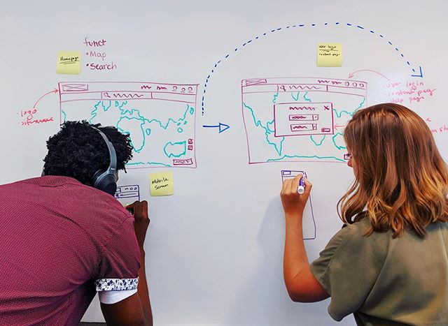 It's just another mappy Monday. . . . #whiteboard #mondaymotivation #gis #dataviz #design #mapping #blueraster #map #uxdesign #uiux #geolocation #thescienceofwhere #esri #esrigram #seewhatotherscant #whiteboarding #dctech #arlingtonva #maps #data #geospatial #womeningis #womenintech #wireframes #mappymonday #webmap #graphicdesign