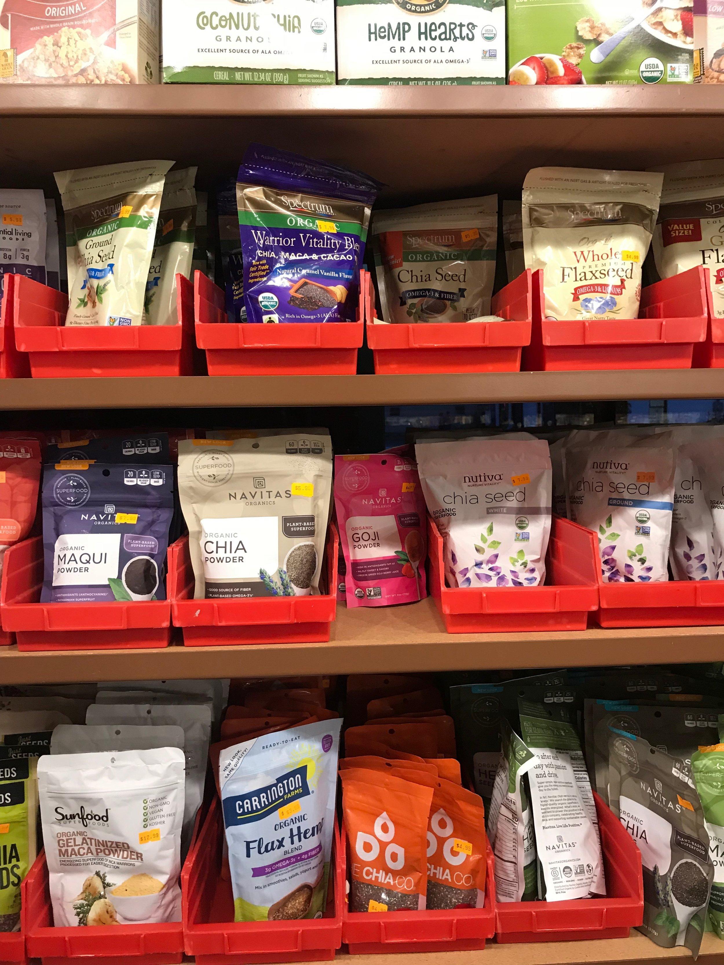 Organic Nuts & Seeds -