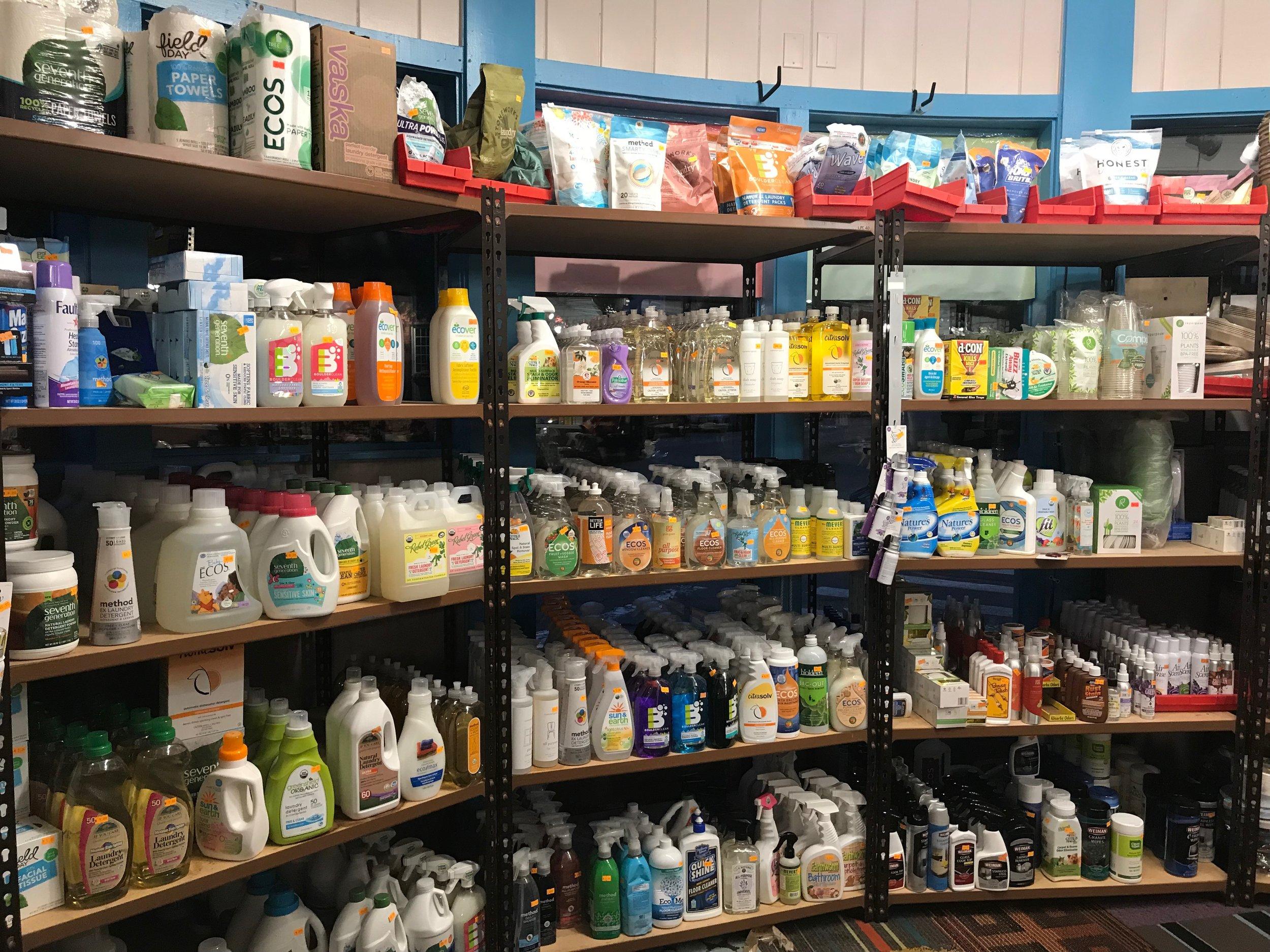 Detergent & Cleaning Supplies -