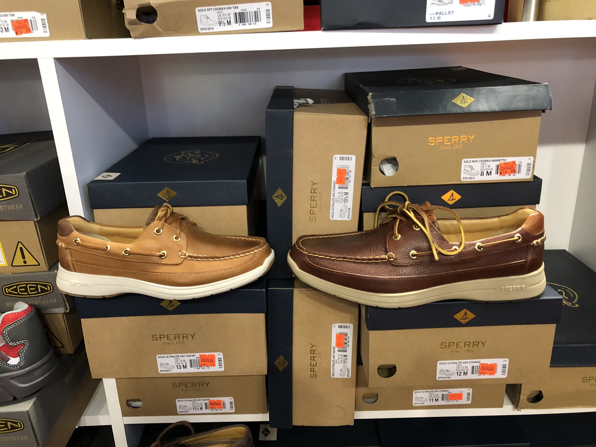 Sperry Gold Cup Men's Boat Shoes - $89.99