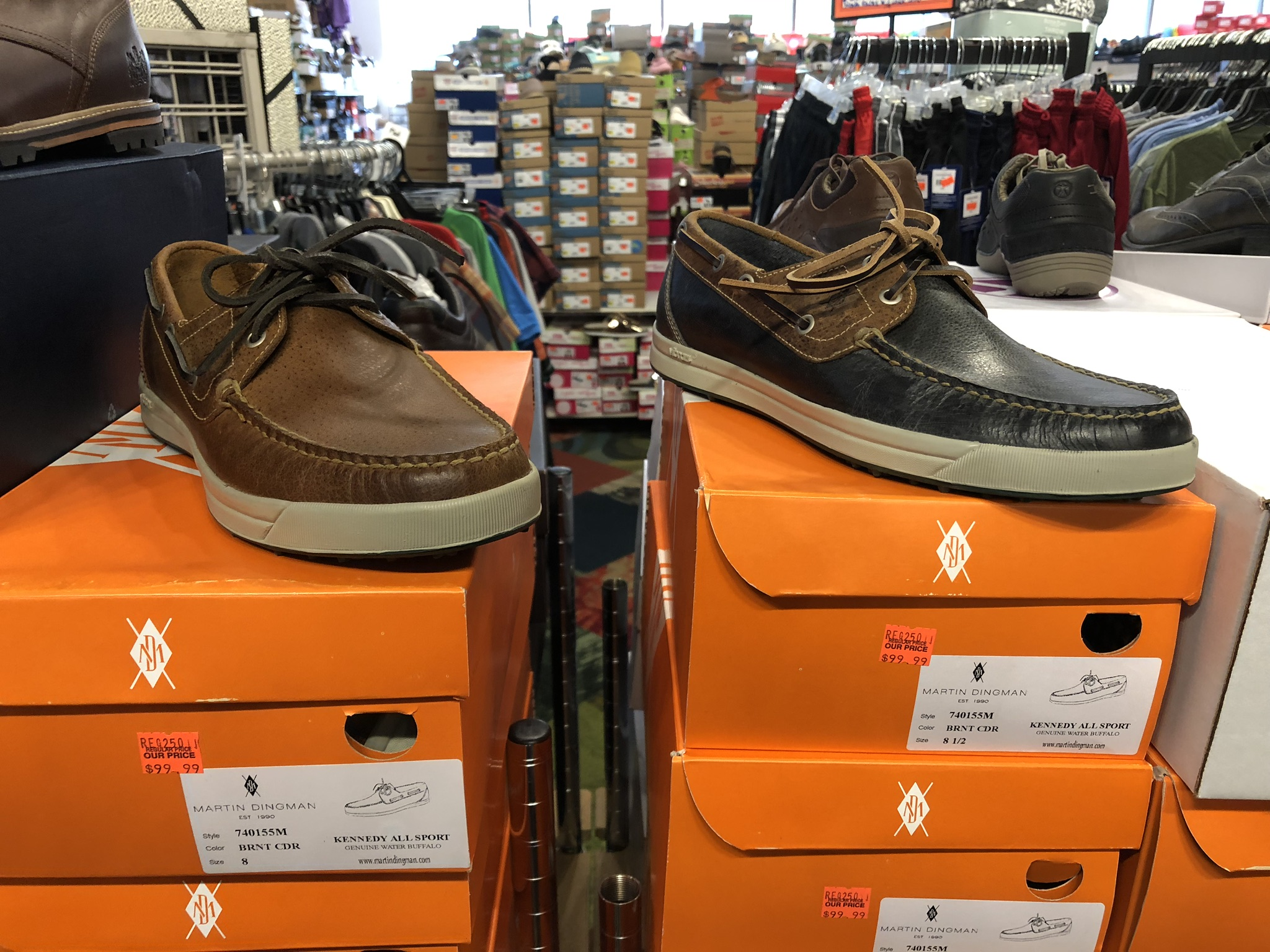 Martin Dingman Boat Shoes - Reg Price $250, Our Price $99.99