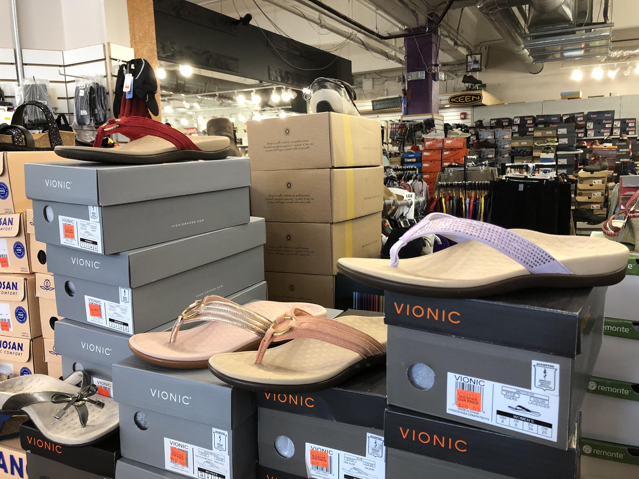 VIONIC Flip Flops - Reg Price $150, Our Price $65
