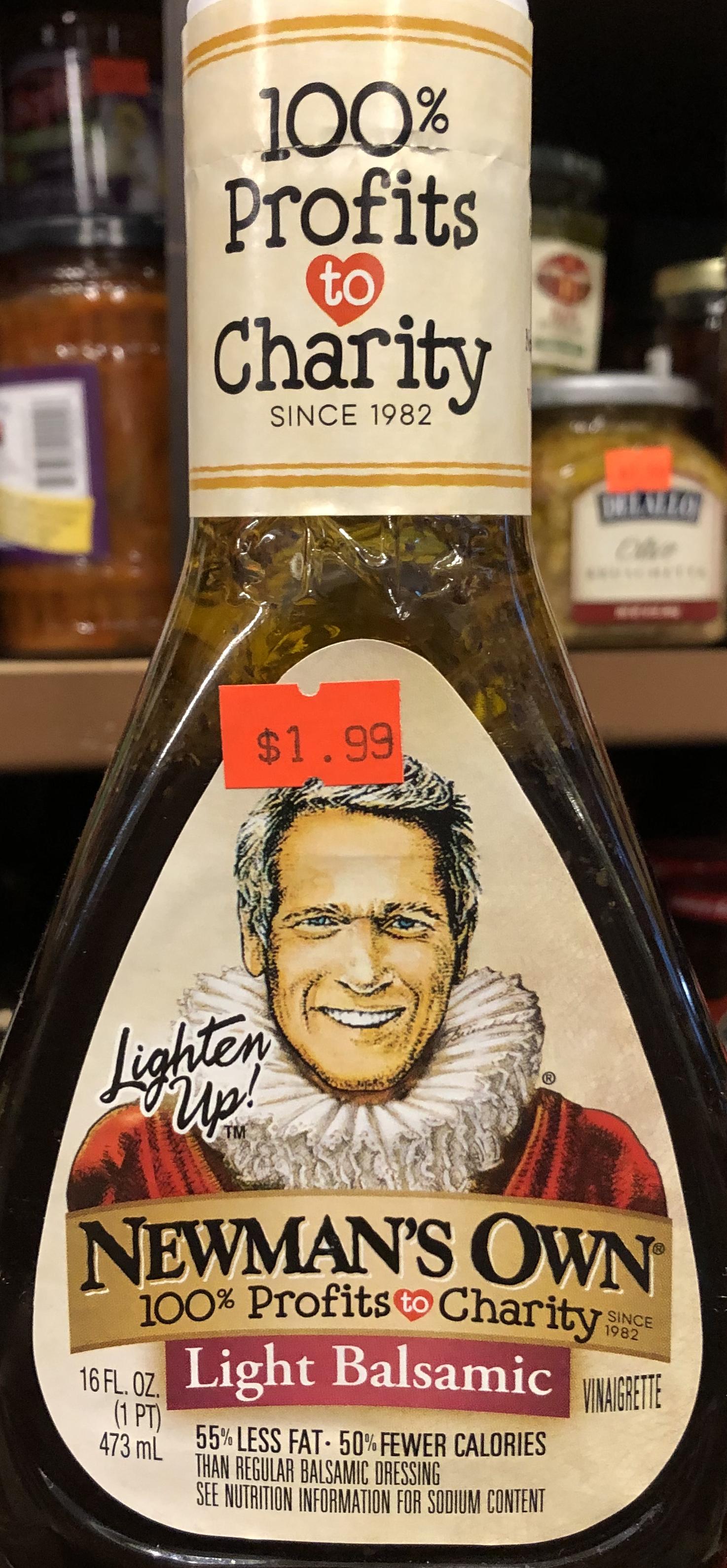 Newman's Own Light Balsamic Dressing