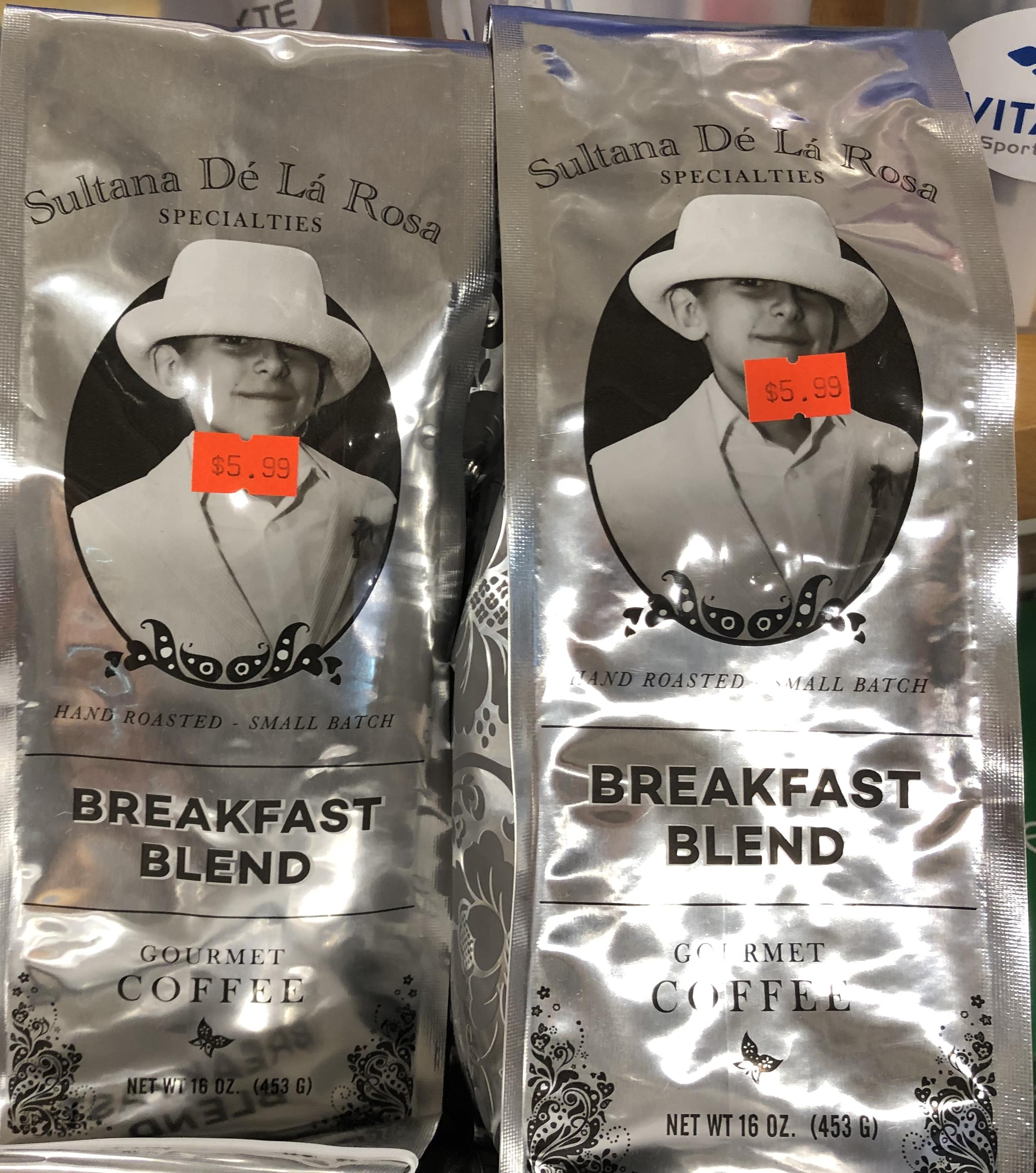 Sultana De La Rosa Coffee - Breakfast Blend