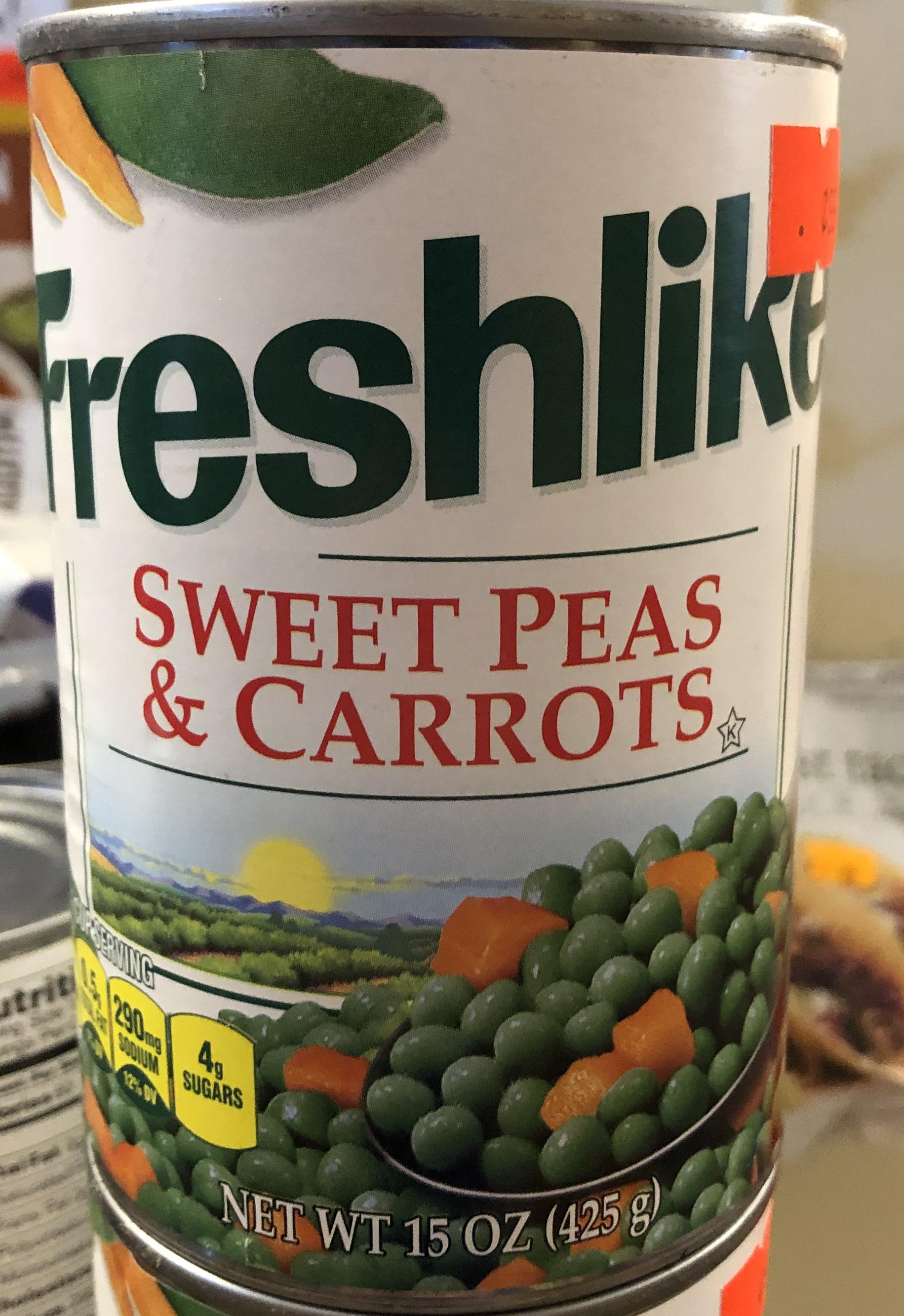 Freshlike Sweet Peas & Carrots