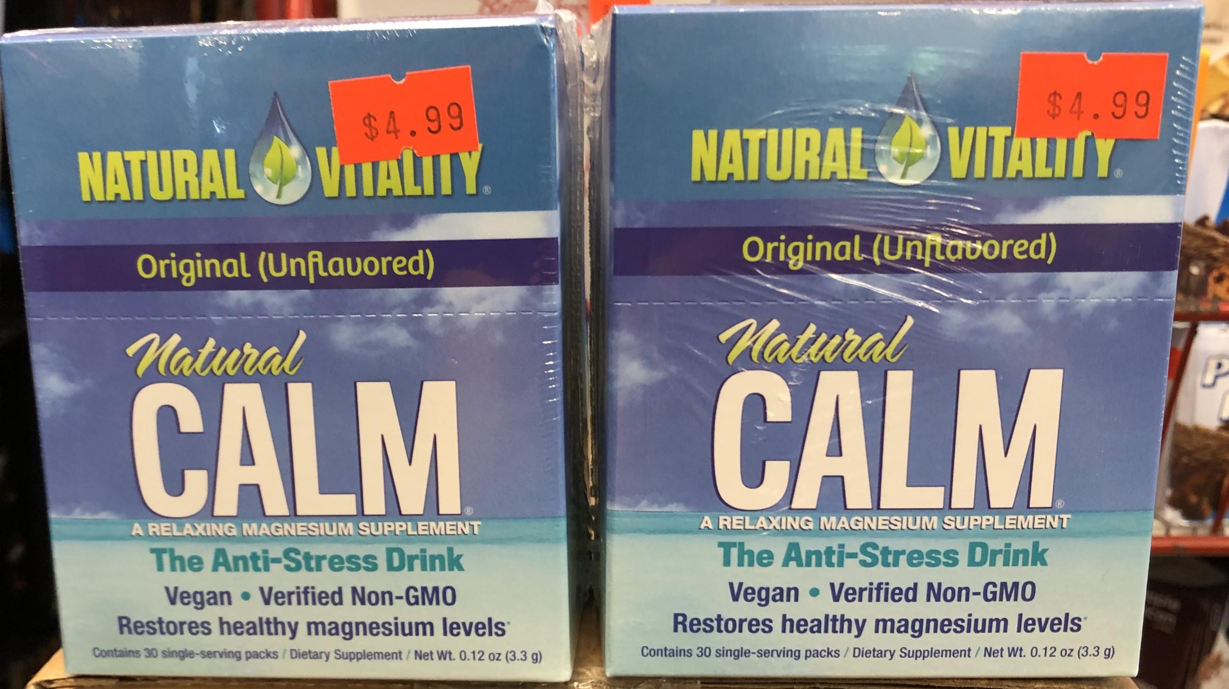 Natural Vitality Calm Anti-Stress Drink - Original