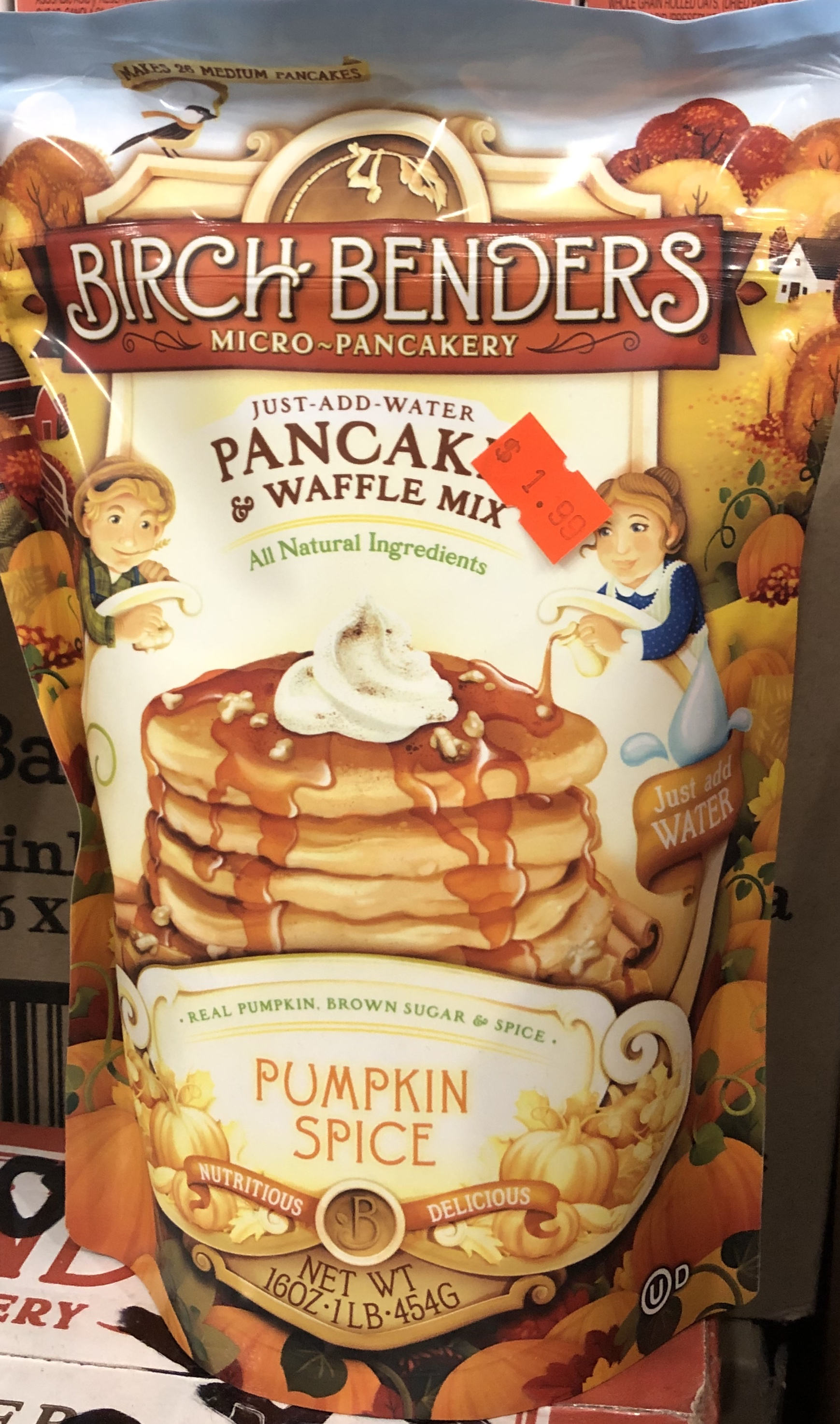 Birch Benders Pancake & Waffle Mix - Pumpkin Spice