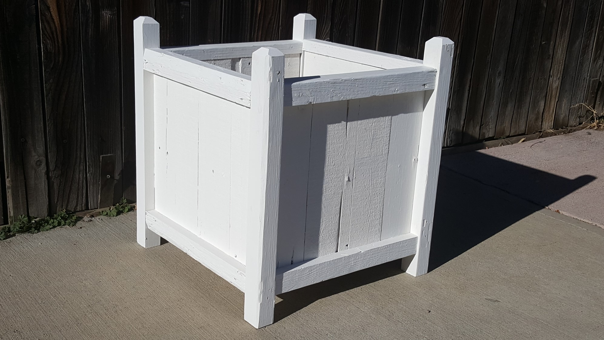PLANTER BOXES - Planters of all shapes and sizes to accommodate the space you have for flowers or herbs. Makes for a great housewarming gift!