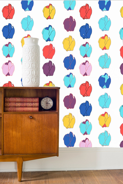 Room-Set---Small-tulips-repeat-wallpaper.jpg