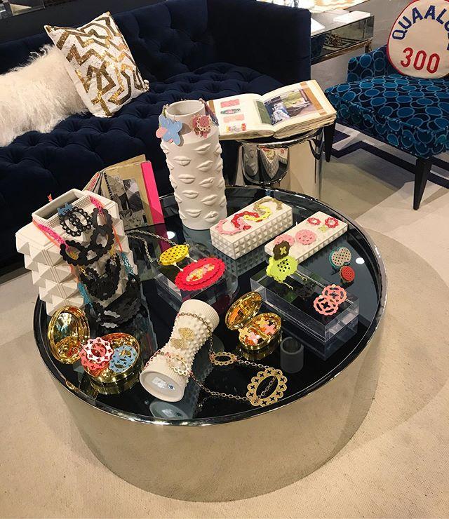 All set up at Jonathan Adler showroom with @nycjewelryweek ! I'm so excited to have a wonderful weekend full of new connections and opportunities. Thank you @bellaneyman and @jeveuxjustemonter for another wonderful experience. 🖤 . . . . . . #studiorat #metalsmith #onthebench #instasmithy #nonbinary #enby #nonbinaryjewelry #snagmember #snagmetalsmith #ajf #joyeria #contemporaryart #contemporaryjewellery #bijoucontemporain #schmuck#schmuckdesigner #internationaljewelry #powdercoat #powdercoating #metalsmithchallenge #metalsmithing #metalsmithsocietystudio #metalsmithsocietyshare #metalsmithsociety #baltimoremetalsmith #baltimoreart #internationalmetalsmith #wearableart #metalsmithchallenge #metalsmith #pinkratcollective