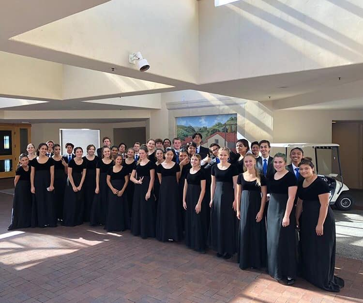 Friends Festival at Solano Catholic Church - October 10, 2018 - Vocal Music students perform vocal selections at this local festival!