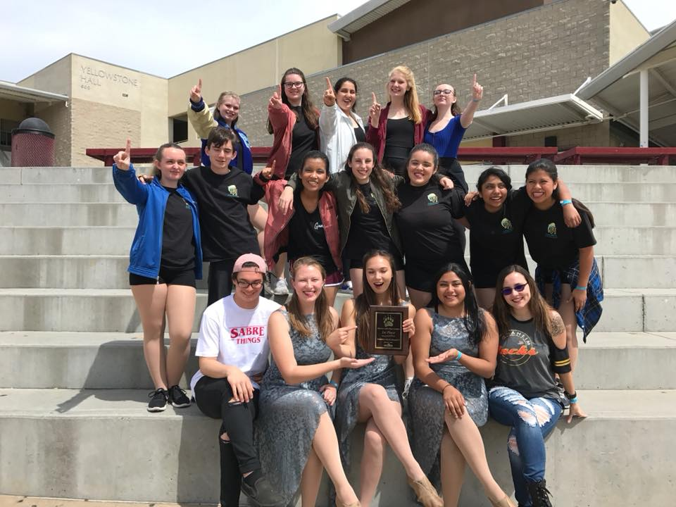 Dolphin regiment winter guard wins! - 1st place win today at the WGASC High School Competition for the Dana Hills Dolphin Regiment Color Guard!March 31, 2018.