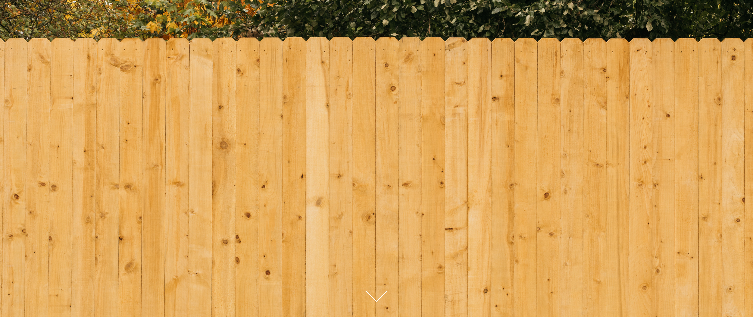 RIGHTWOOD - Stained RightWood fencing for the price conscious homeowner.