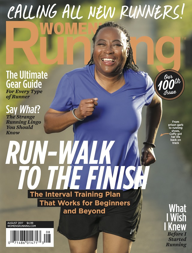 Helenia featured in the August 2017 edition of  Women's Running Magazine  as part of her involvement in the Back on My Feet program.