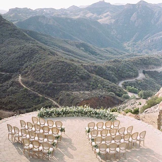 """When people say, """"since you're a wedding planner... you must have your whole wedding planned out"""". My answer: """"I actually have no clue. What i do know is that I want it to be intimate.. and with a gorgeous view""""."""