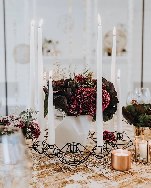 Our team is prepping for some gorgeous holiday weddings and events!