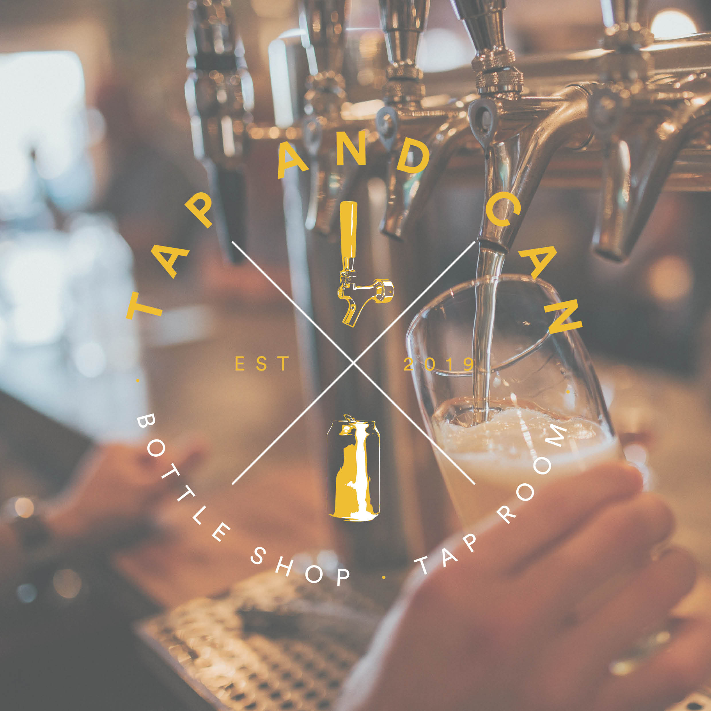 Tap & Can is an exciting new craft ale bar coming to Shrewsbury. We have worked with them to understand their concept and vision and create their branding.