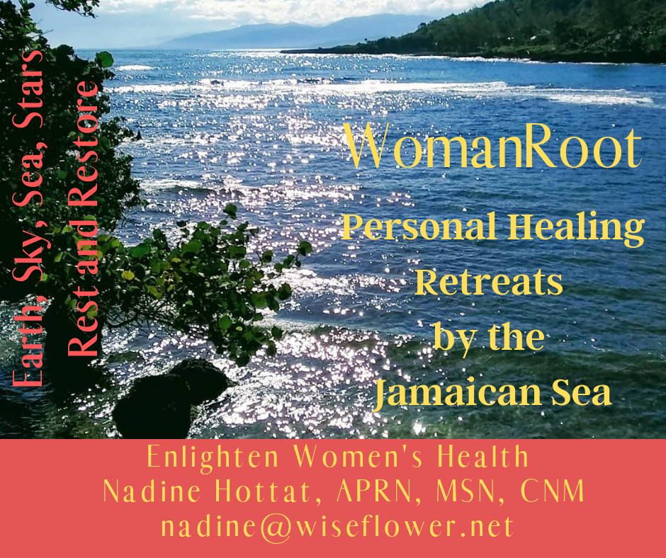 WomanRoot Retreats for Women in the Brilliantly Beautiful, Peaceful Seaside Village of Strawberry Fields in St. Mary, Jamaica An opportunity to honor yourself and your personal healing process with rest, relaxation, .png