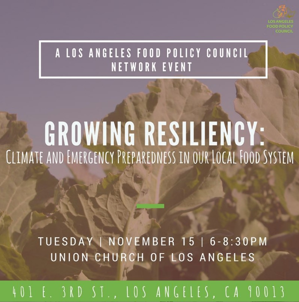 Network Events — Los Angeles Food Policy Council