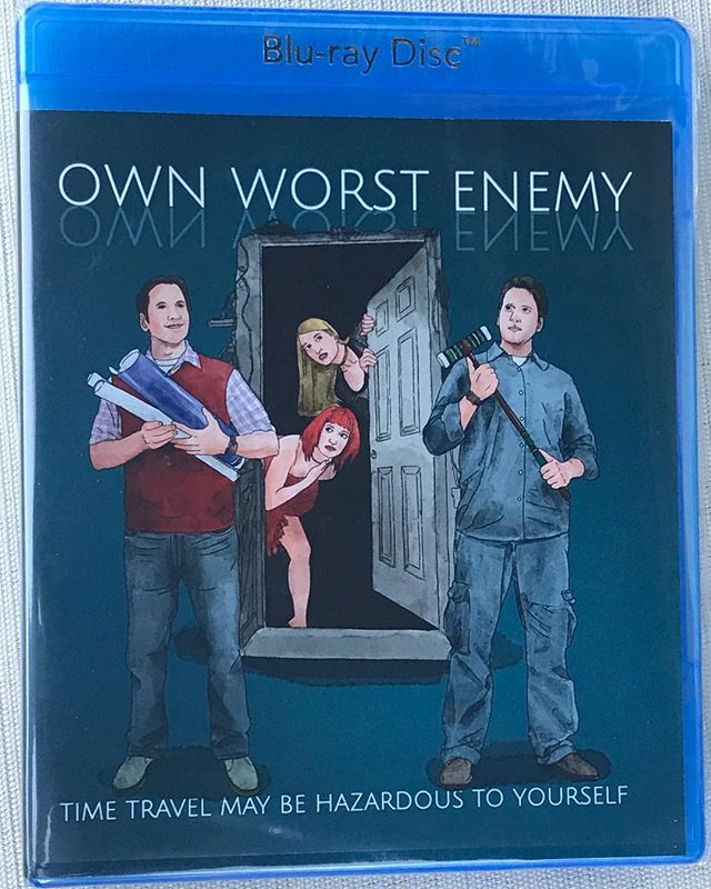 The people have spoken and Own Worst Enemy is now avail on Blu-Ray. (via Amazon)