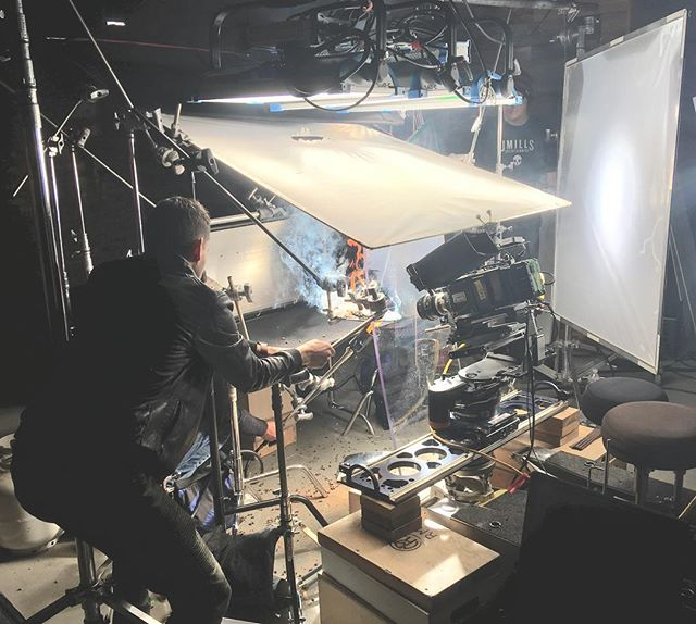 Hot Shots this week, over at JMills Entertainment in Utah. #PhantomFlex4K #tabletop @jmillsent