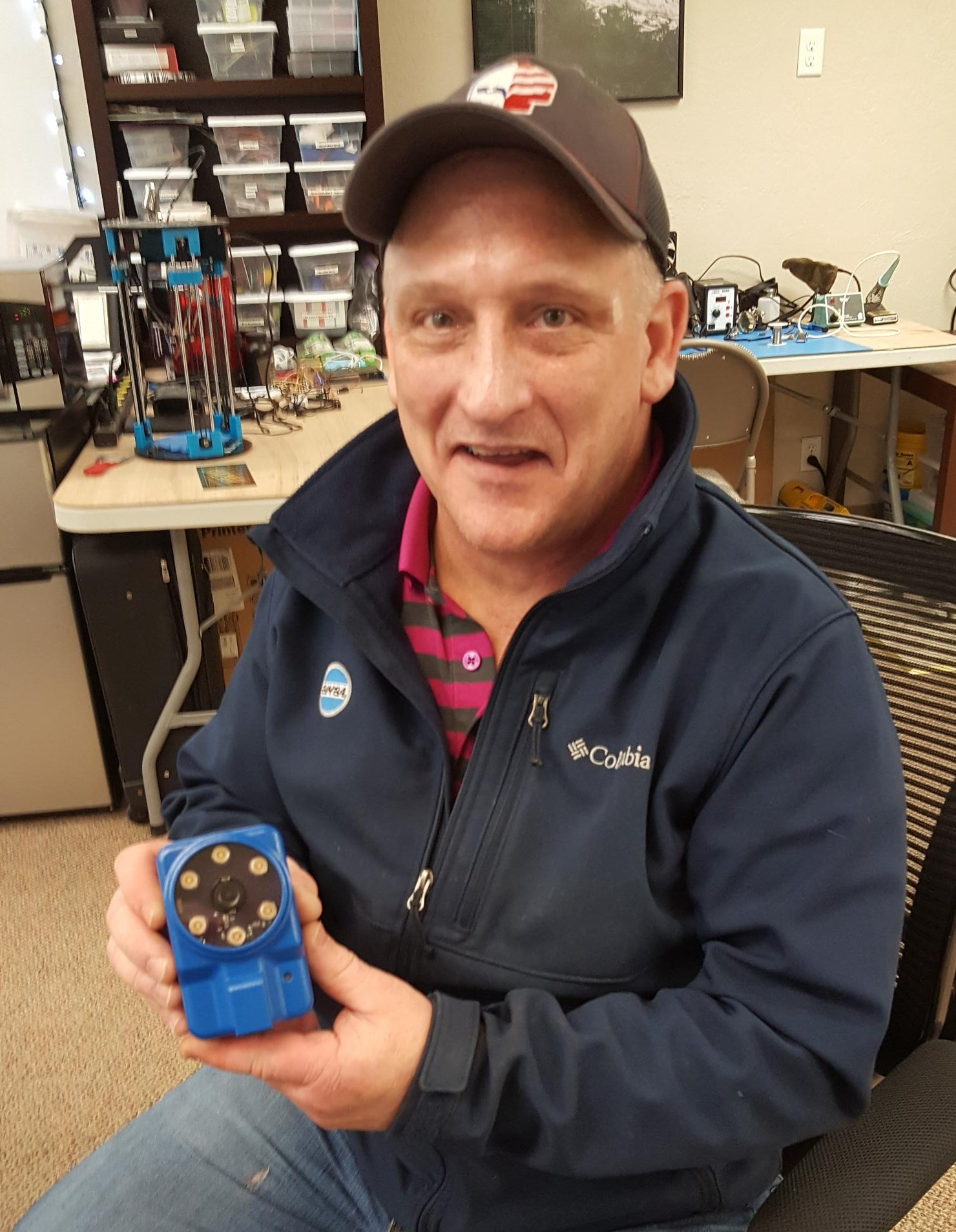 - Joe Schwindt, PE, is an applications engineer with Buchanan Automation, specializing in industrial robot applications in packaging and manufacturing. His advice has been very helpful, enhancing our understanding of the market and confirming we are on the right path. On a recent visit we gave him a personal demo of our VIM-201 camera mounted on a robot performing visual servoing.
